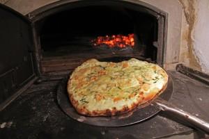 Micropizzeria Smoked Salmon Pizza