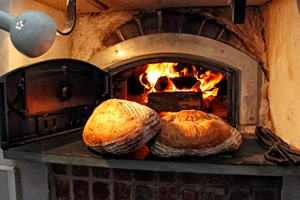 Woodfired sourdough loaves